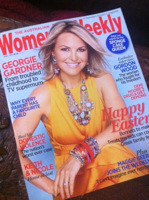 Australian Women's Weekly Cover - Georgie Gardner