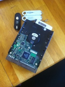 Hard drive with valuable stuff on it!