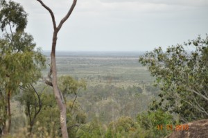 View from Blue Mountain, Middlemount, QLD, Australia