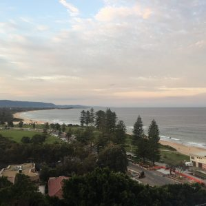 View from Novatel North Wollongong