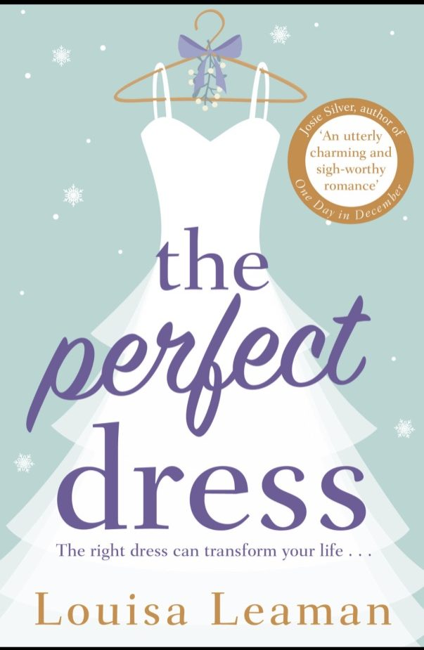 Book review The perfect dress Louisa Leaman